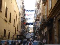 ナポリの洗濯物